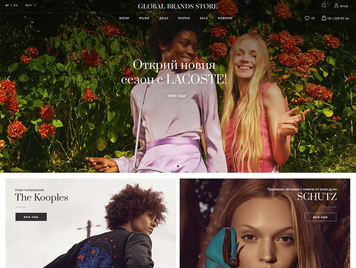 Global Brands - header