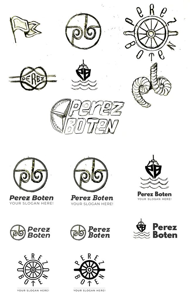 Perez Boten - Лого концепции